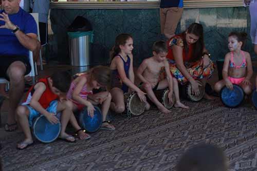 פעילות תופים לילדים